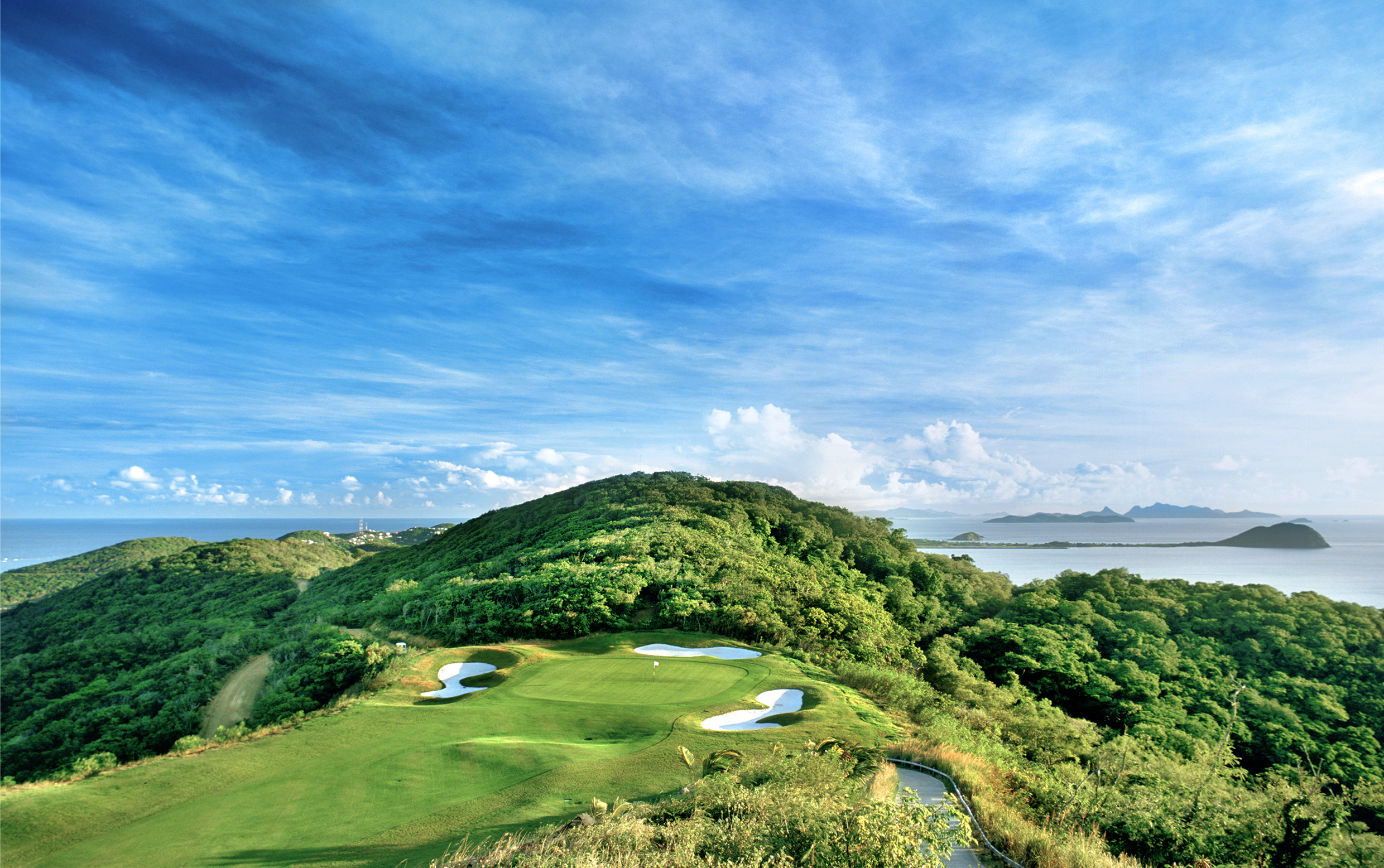 Great Golf Course Caribbean